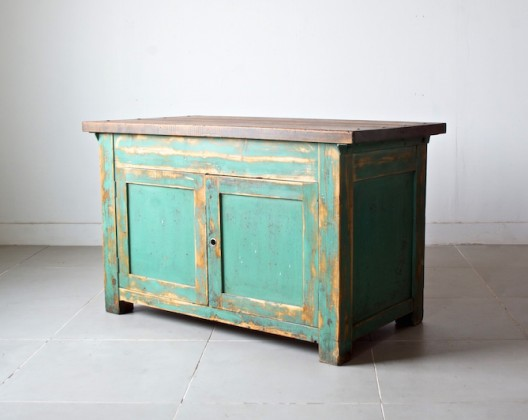 Shop counter cabinet