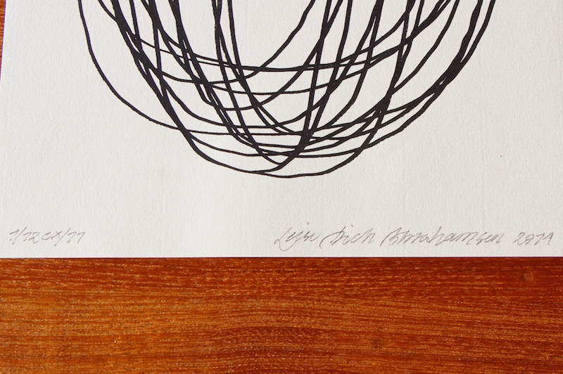 Sort Lines by Leise Dich Abrahamsen