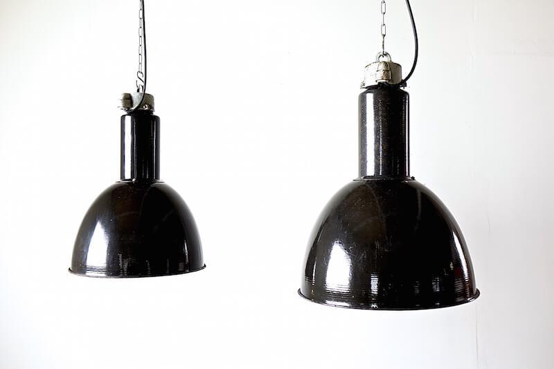 Black head lamp/インダストリアルランプ照明ライト