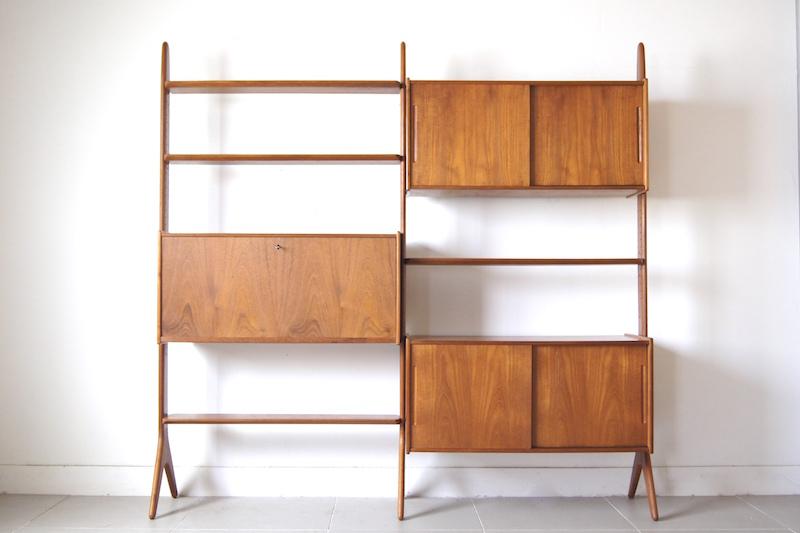 Open shelf by Arne Hovmand-Olsen