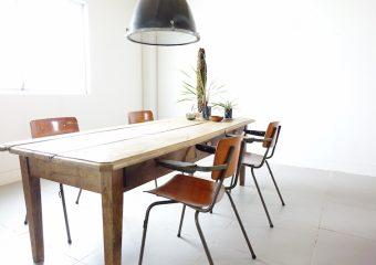 Huge farm wood table/アンティークテーブル