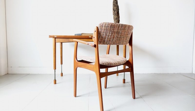 Model 50/teak Armchair by Erik Buch