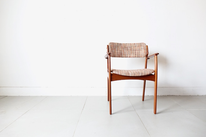 Model 50/teak Armchair by Erik Buch