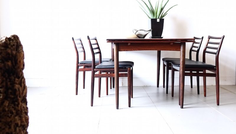 Dining chairs by Erling Torvits