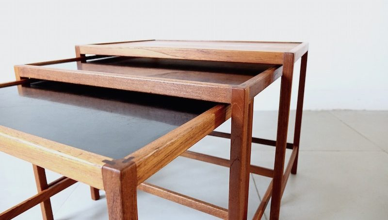 Nesting table by Kurt Ostervig