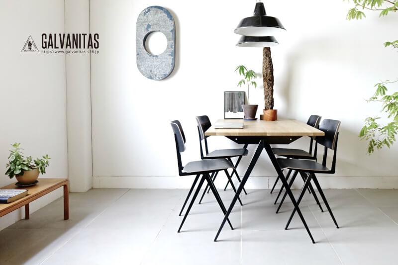 Galvanitas td4 dining table