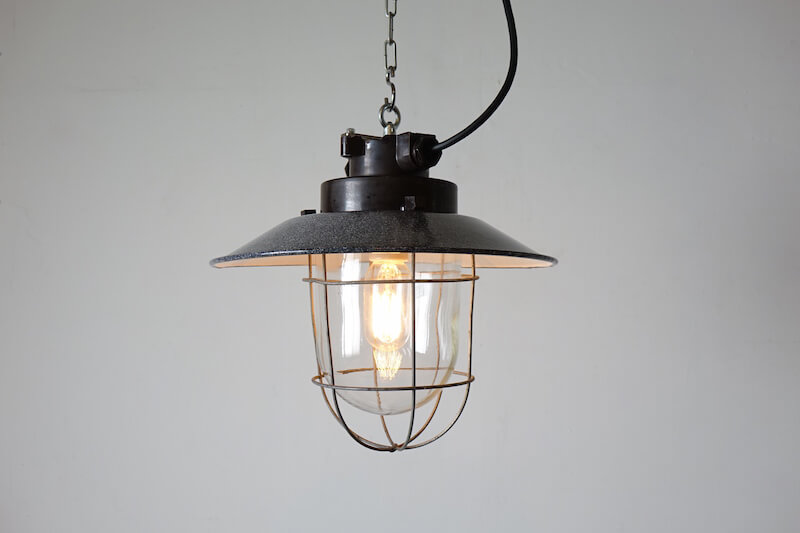 Black deck lamp #2