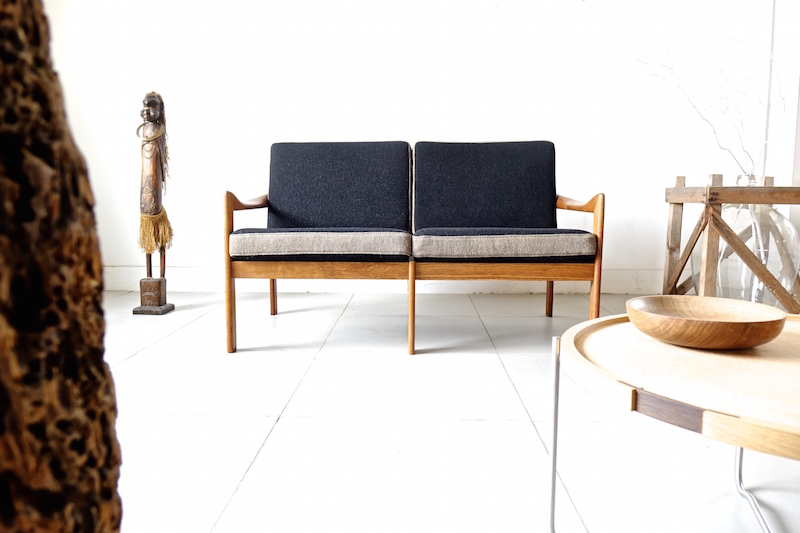 2P Sofa by Illum Wikkelso