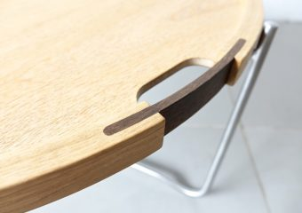"""CH417"" Tray table by Hans J. Wegner"