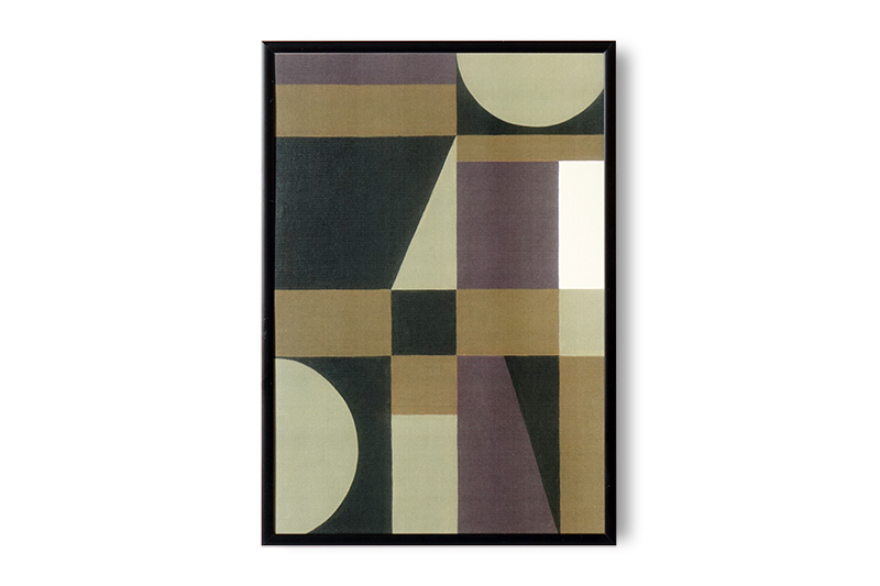 Earth Squares by Leise Dich Abrahamsen