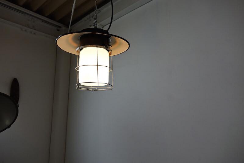 Industrial deck lamp / インダストリアルランプ
