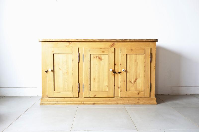 Vintage pine cabinet