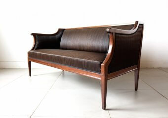 Antique horsehair sofa