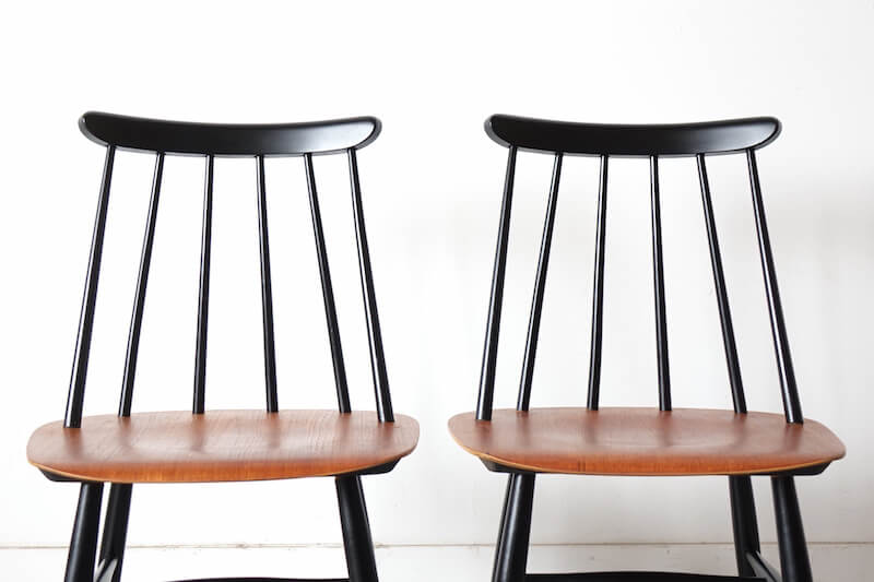 Fanett chairs by Ilmari Tapiovaara