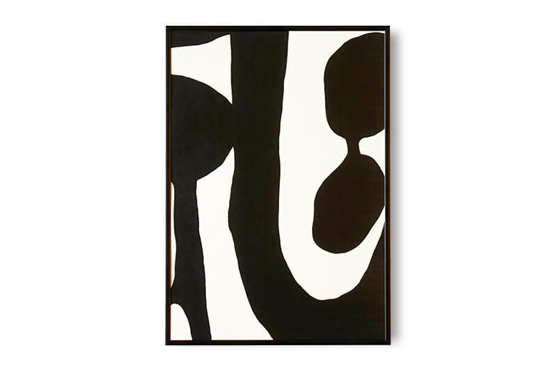 Black & White by Leise Dich Abrahamsen