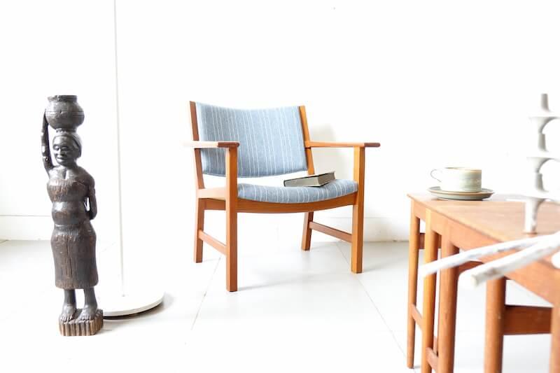 Model.3262 Lounge Chair by Hans J. Wegner for Fredericia Stolefabrik