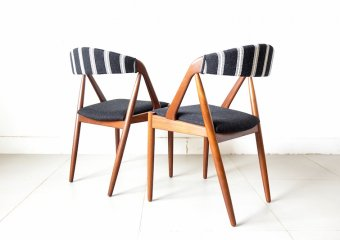 """NV31"" Dining Chairs by Kai Kristiansen for Schou Andersen"