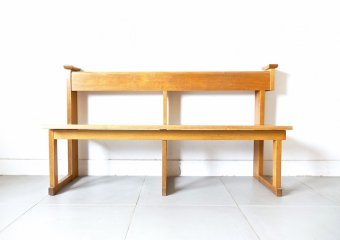 Danish old church bench
