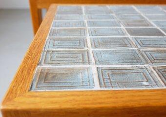 Tiletop nesting table for Illums Bolighus イルムスボリフス ヴィンテージネストテーブル