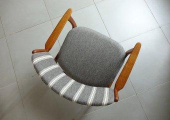 """""""Model50"""" Armchair in oak by Erik Buch エリックバック アームチェア"""