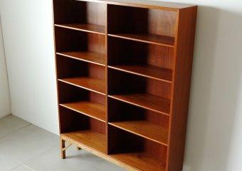 Bookcase in teak by Borge Mogensen
