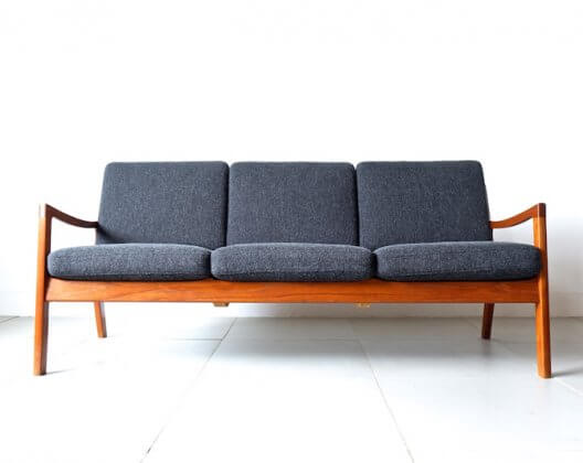 Model 166 Senator 3-seater Sofa by Ole Wanscher オーレ・ヴァンシャー 3シーターソファ