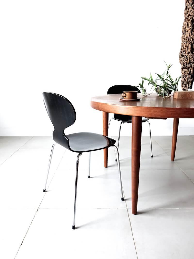 """アルネ・ヤコブセン アントチェア 4本脚 Ant chairs """"FH3101"""" by Arne Jacobsen"""