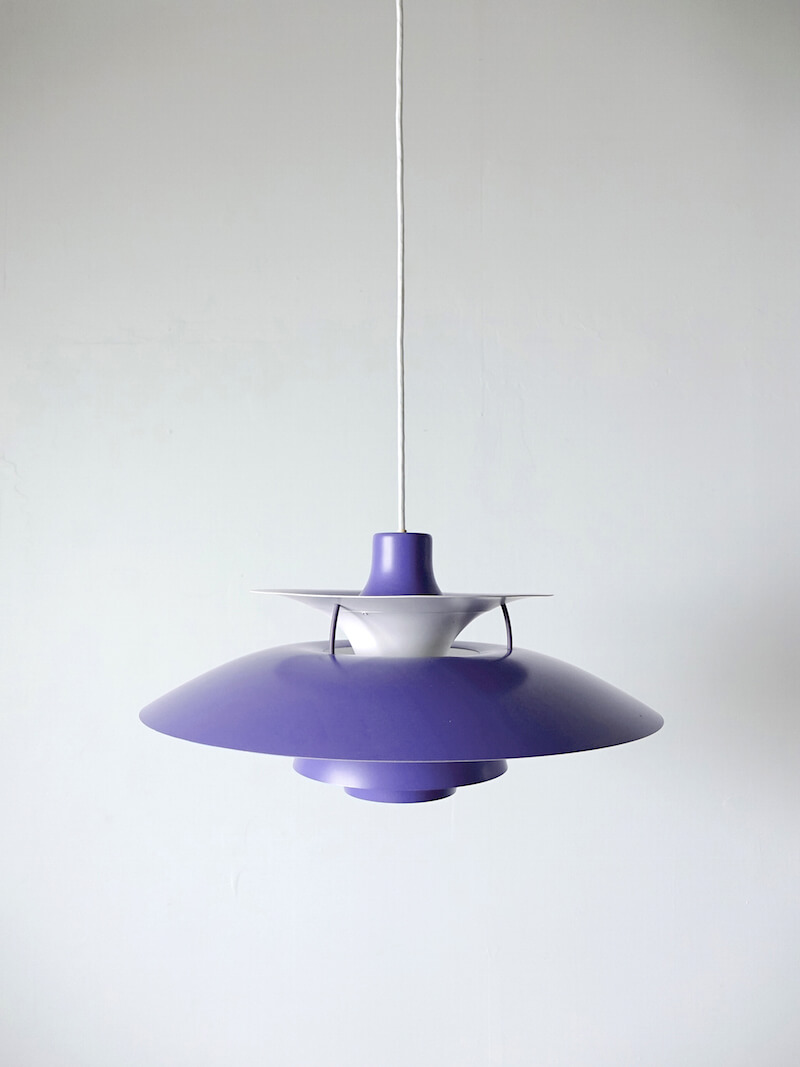 Purple PH 5 by Poul Henningsen