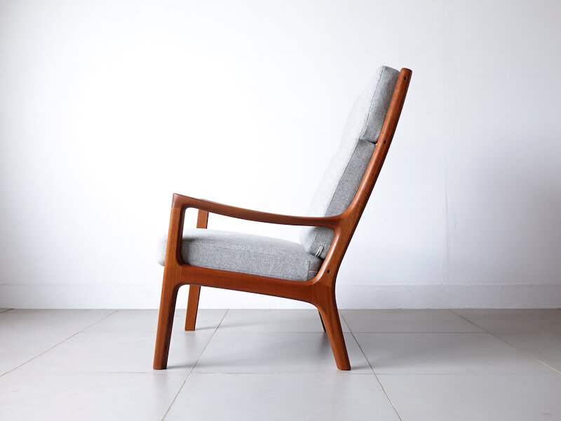 """Senetor"" Highback chair by Ole Wanscher"