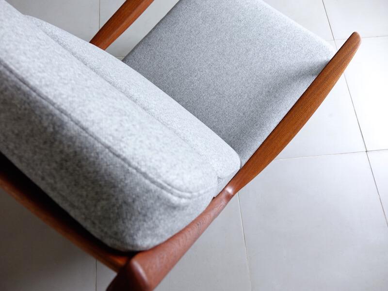 """""""Senetor"""" Highback chair by Ole Wanscher"""