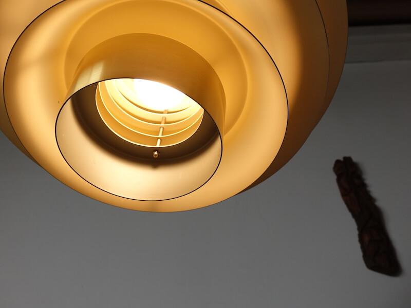 """Verona"" small lamp (brass) by Svend Middelboe"