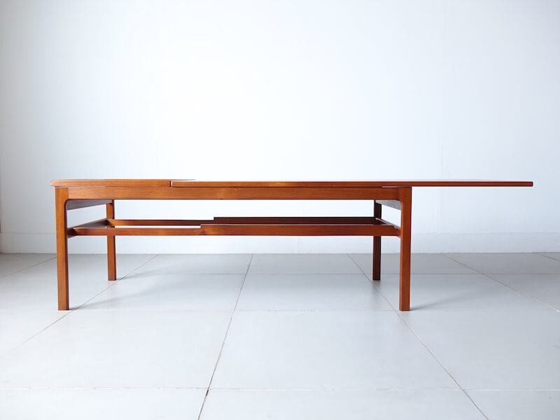 Coffee table in teak by Hans Olsen