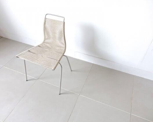 """PK1"" Dining chair by Poul Kjaerholm"
