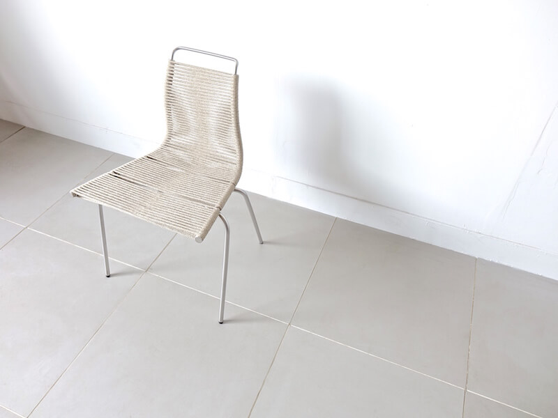 """PK1"" Dining chair by Poul Kjaerholm"