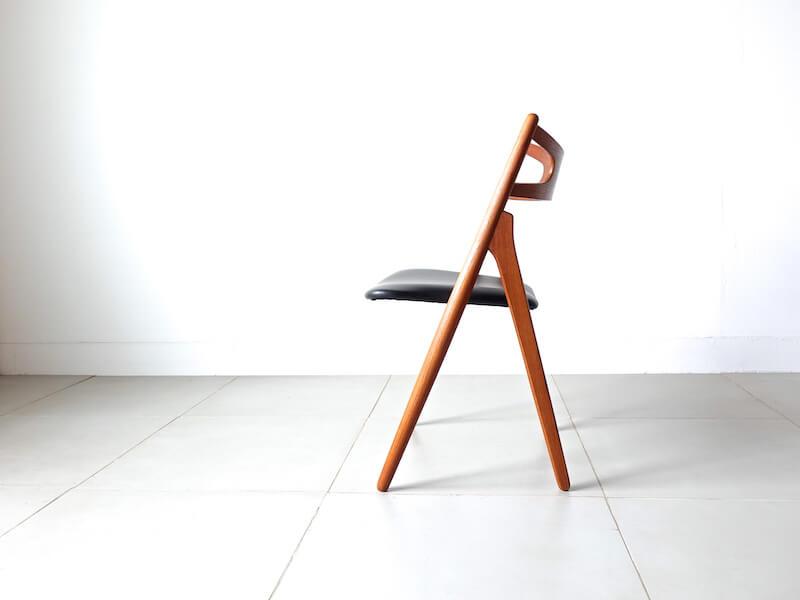"""CH29"" Sawbuck chair by Hans J. Wegner"