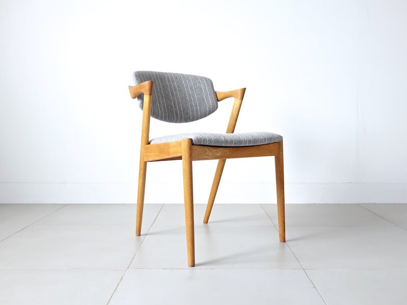 """No.42"" Dining chair by Kai Kristiansen in oak"