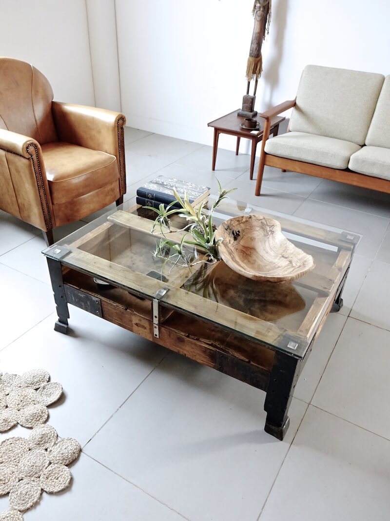 Industrial Palette Table