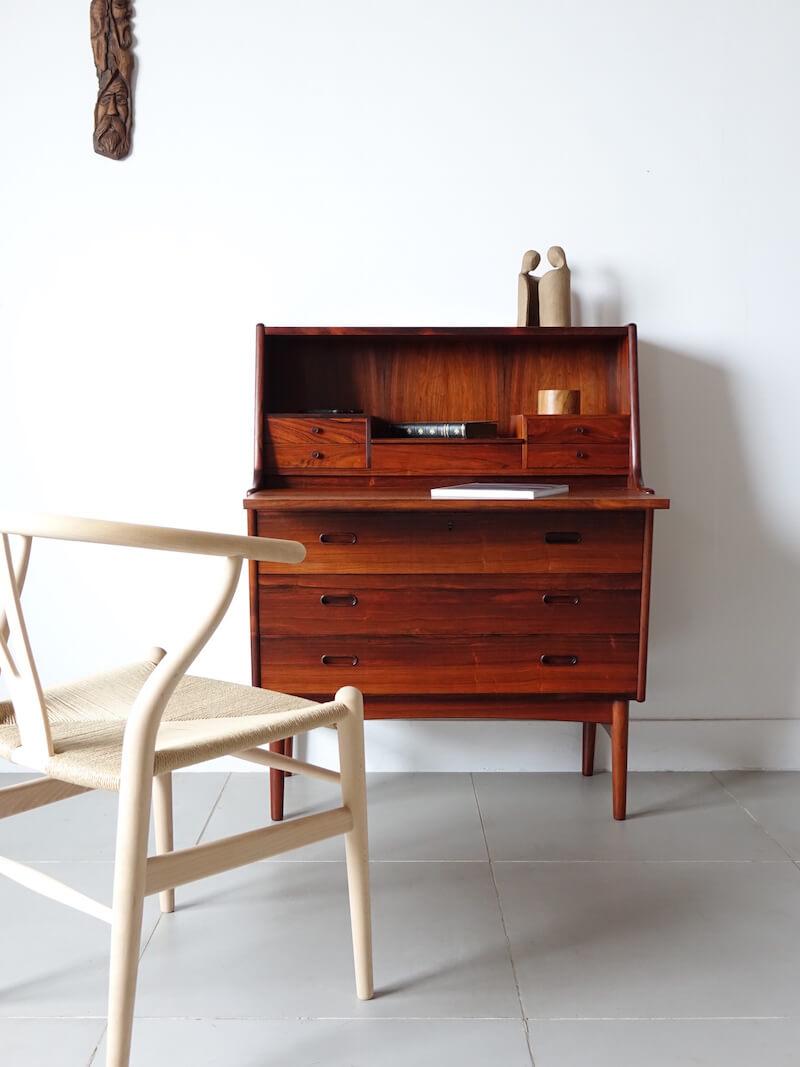 Danish bureau in rosewood