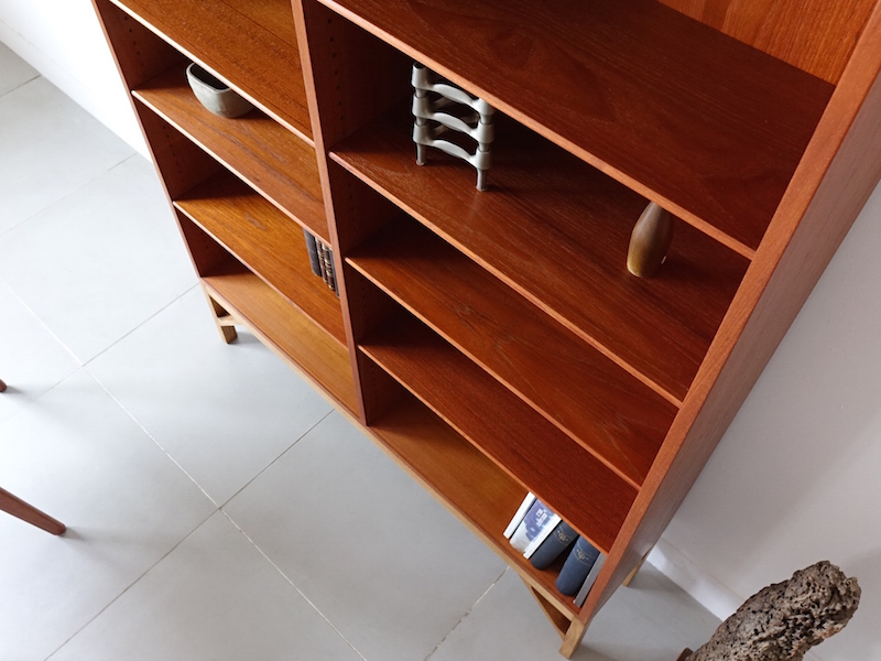 Bookcase by Borge Mogensen for FDB