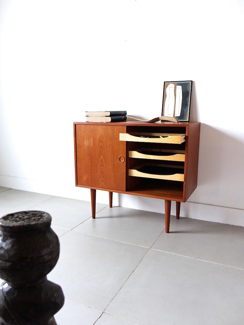 Cabinet by Kai Kristiansen for Feldballes Møbelfabrik
