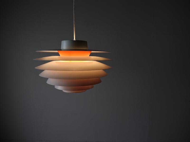 Pendant lamp Verona by Svend Middelboe for Nordisk Solar
