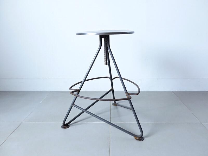 Industrial iron stool / ヴィンテージインダストリアルスツール