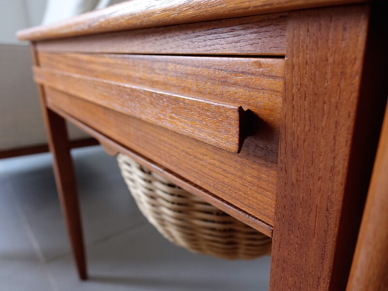 Sewing table by Johannes Andersen for CFC Silkeborg