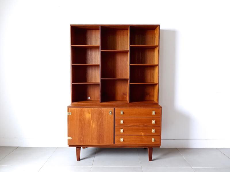 Bookcase cabinet by Peter Løvig Nielsen for Hedensted Mobelfabrik