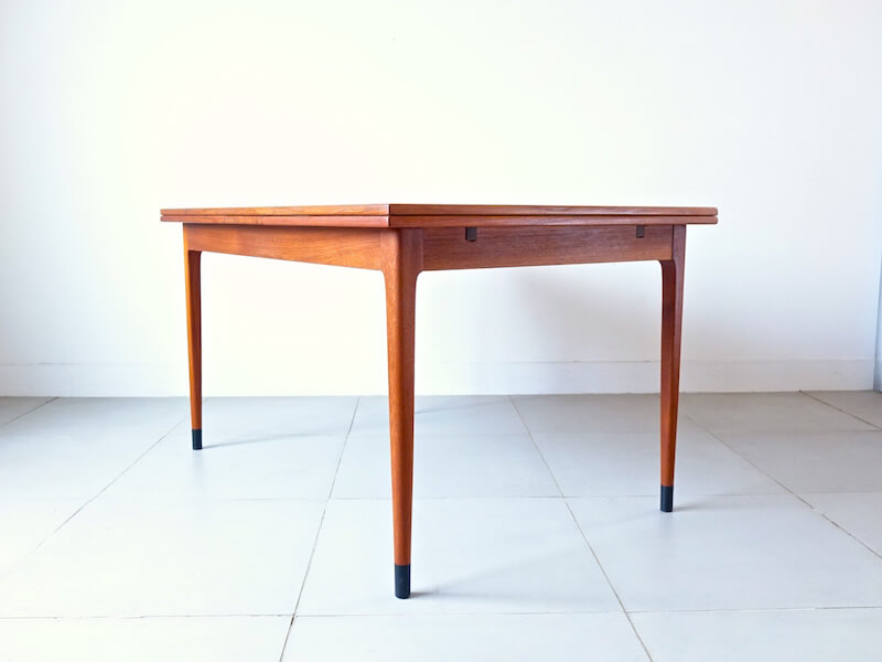 Model #9 dining table by Niels O. Møller for J L Møller
