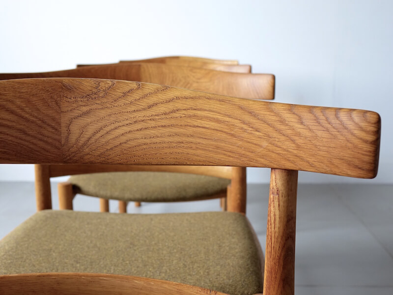 Dining chairs by Søborg Mobler