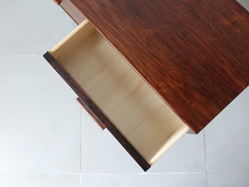 Rosewood chest by Kai Kristiansen for Feldballes Møbelfabrik