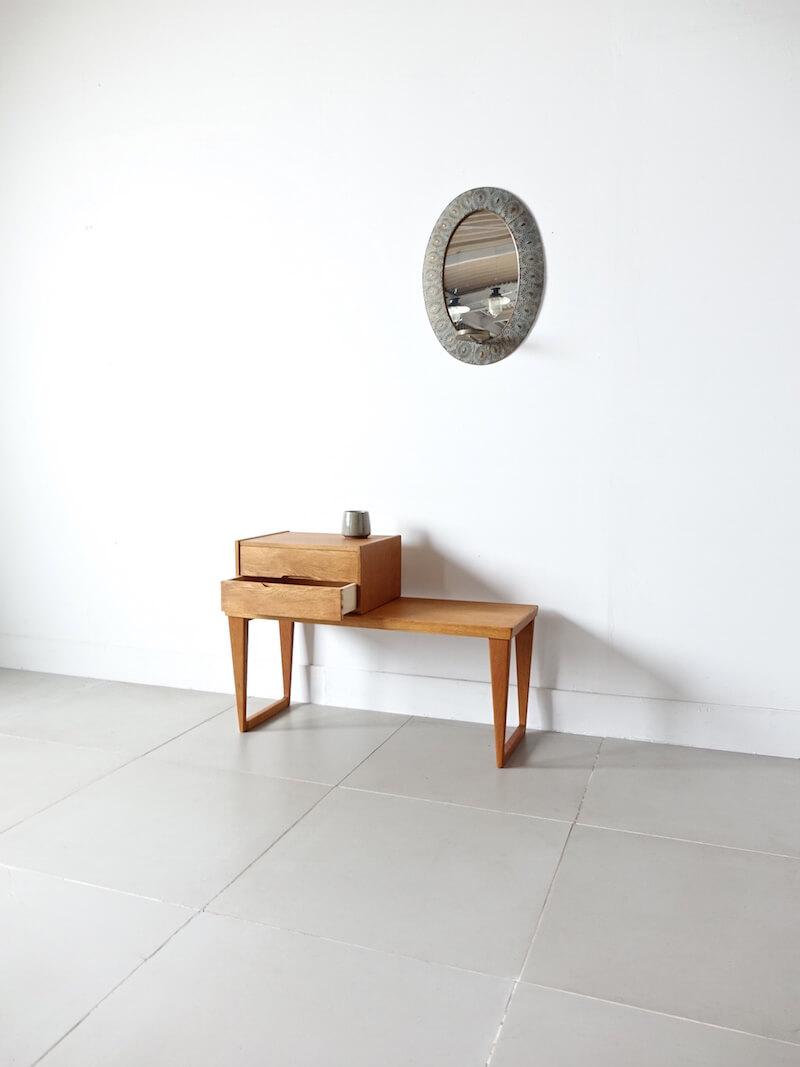 """""""Model.36"""" Enterance hall chest by Kai Kristiansen for Aksel Kjaersgaard"""