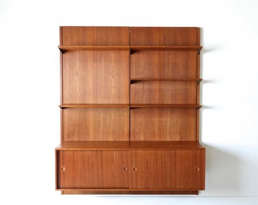 Wall Unit BO.71 by Finn Juhl for Bovirke