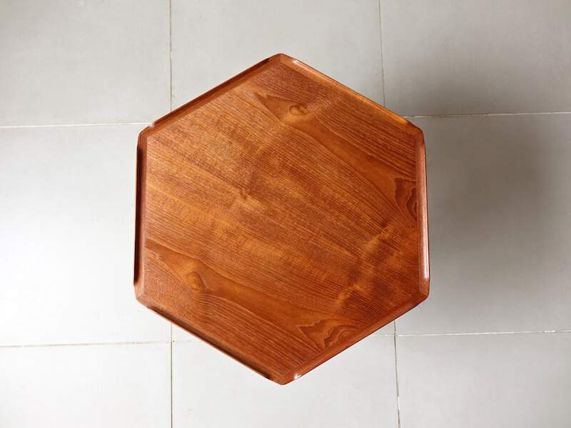 Hexagon table by Poul Jensen for CFC Silkeborg
